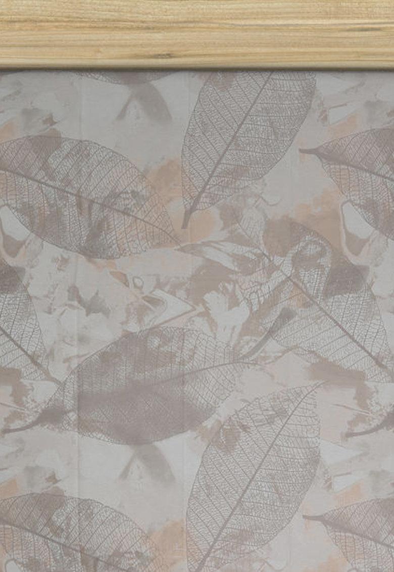 Leunelle Cearsaf cu elastic si imprimeu cu fruze Sally