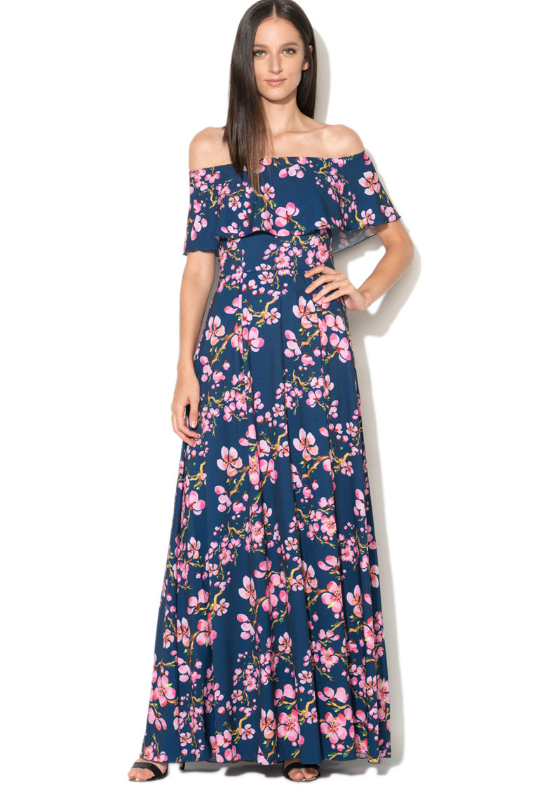 Maiocci Los Angeles Rochie maxi cu imprimeu floral