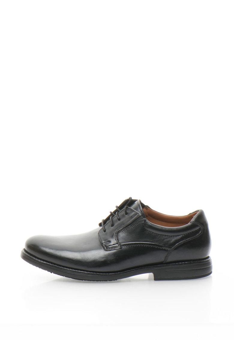 Clarks Pantofi de piele Hopton Walk