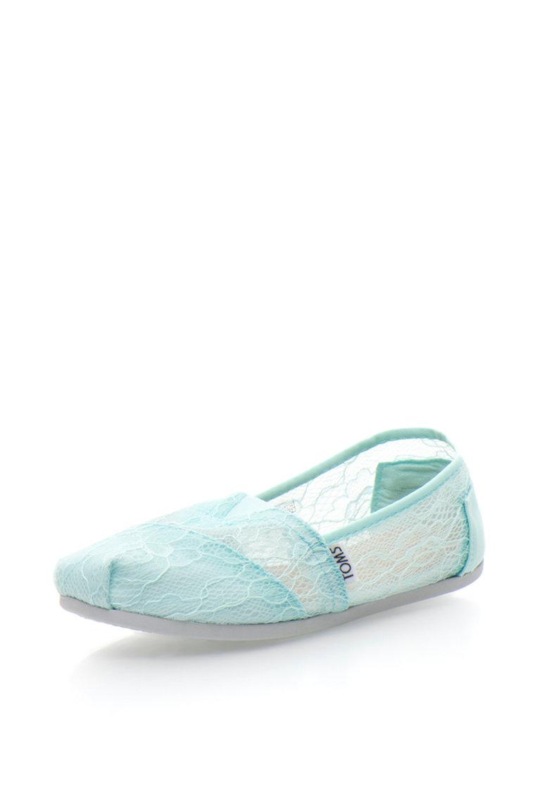 TOMS Pantofi slip-on din dantela Classic