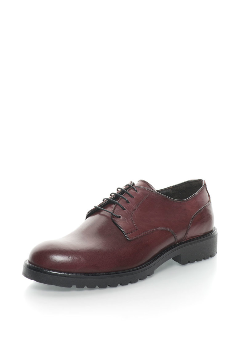 Pantofi derby de piele 4