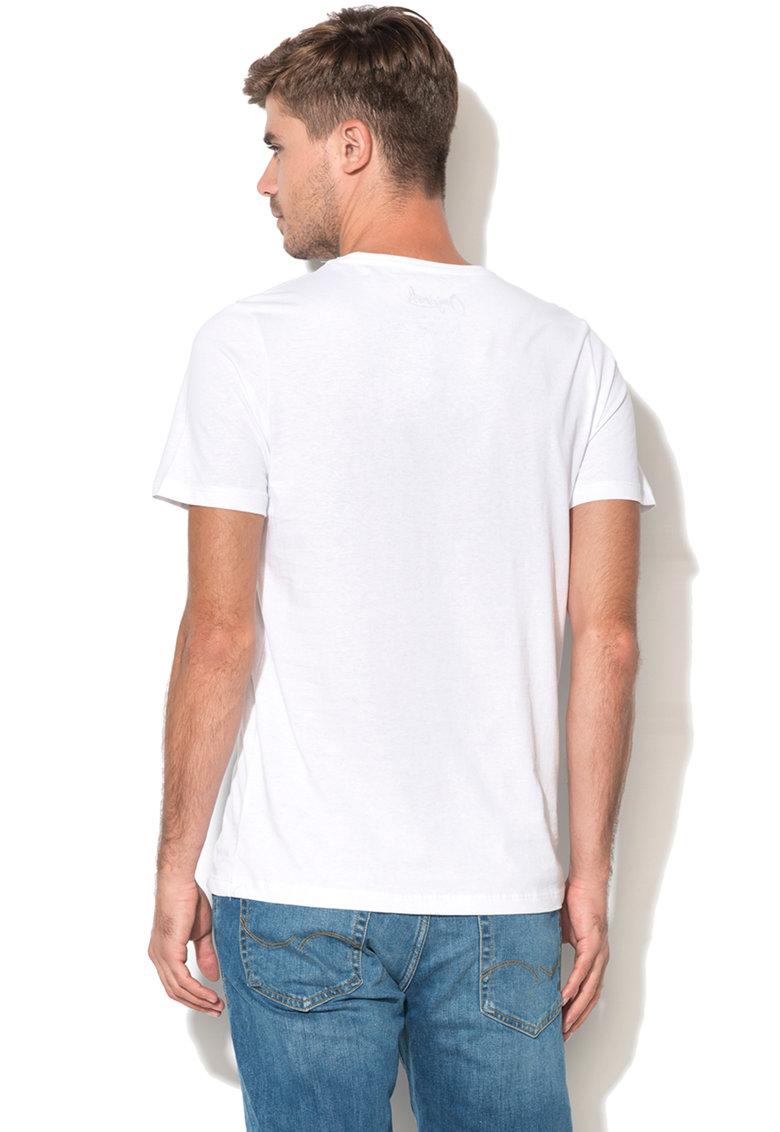 JackJones Tricou slim fit cu imprimeu Swi