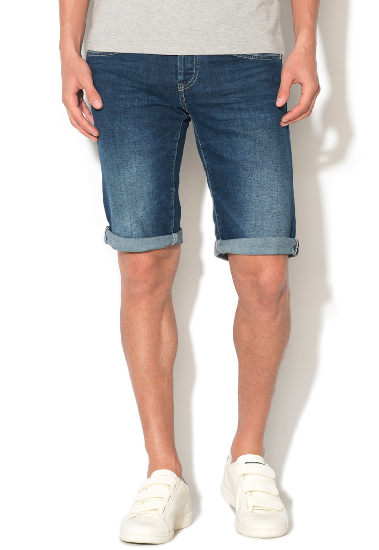 GAS Bermude de denim comfort fit Anders