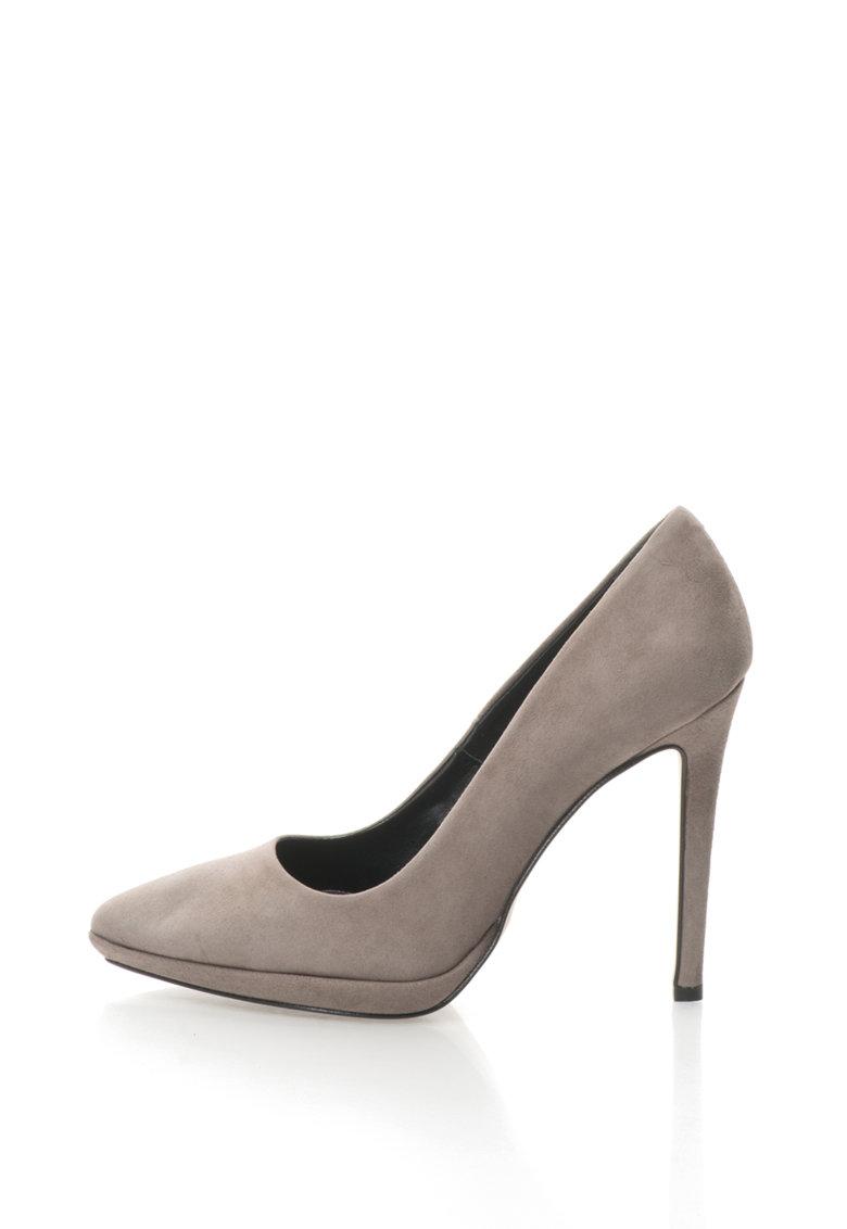 Zee Lane Pantofi stiletto de piele intoarsa Camelia