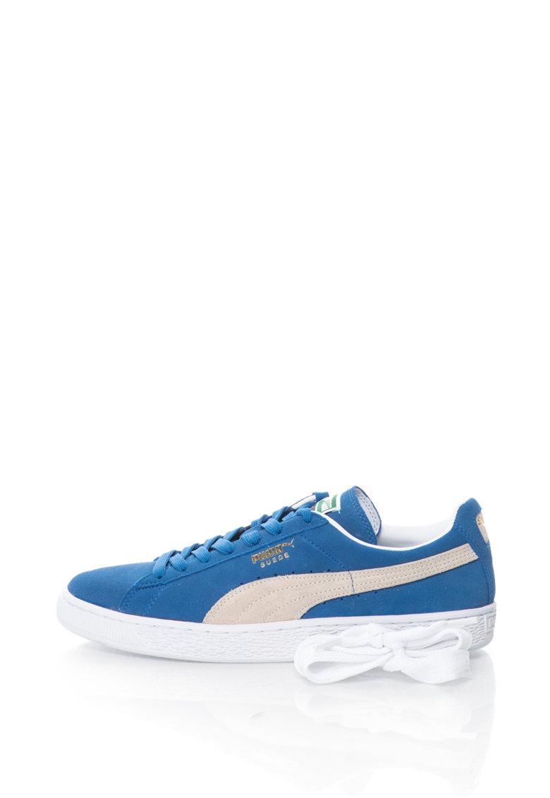 Puma Pantofi sport de piele intoarsa Classic + – Unisex