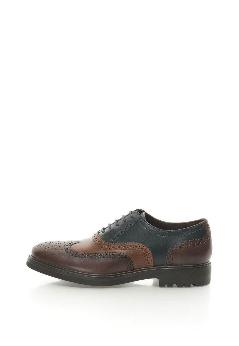 Pantofi Brogue de piele de la Lumberjack