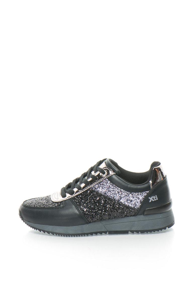 Xti Pantofi sport cu aplicatii stralucitoare