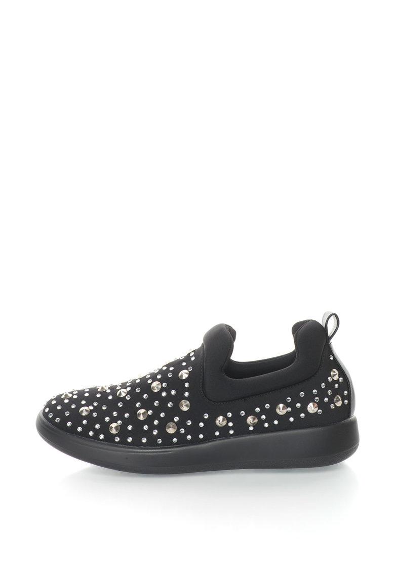 Oakoui Pantofi slip-on cu nituri Elena