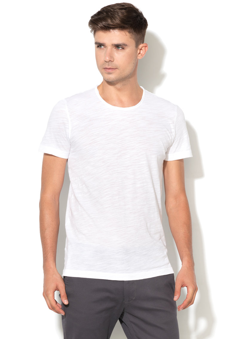 United Colors Of Benetton Tricou basic din bumbac organic