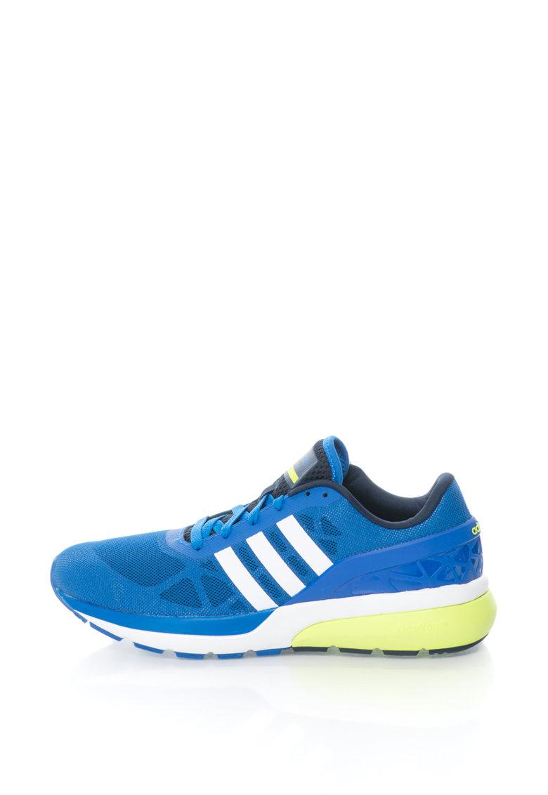 adidas NEO – Pantofi sport Cloudfoam Flow – Albastru royal/Alb