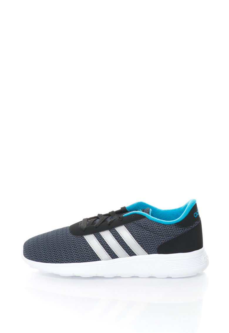adidas Neo – Pantofi sport de plasa Lite Racer – Negru/Gri deschis