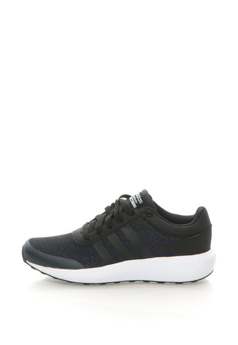 adidas NEO – Pantofi sport cu imprimeu animal print discret Cloudfoam Race