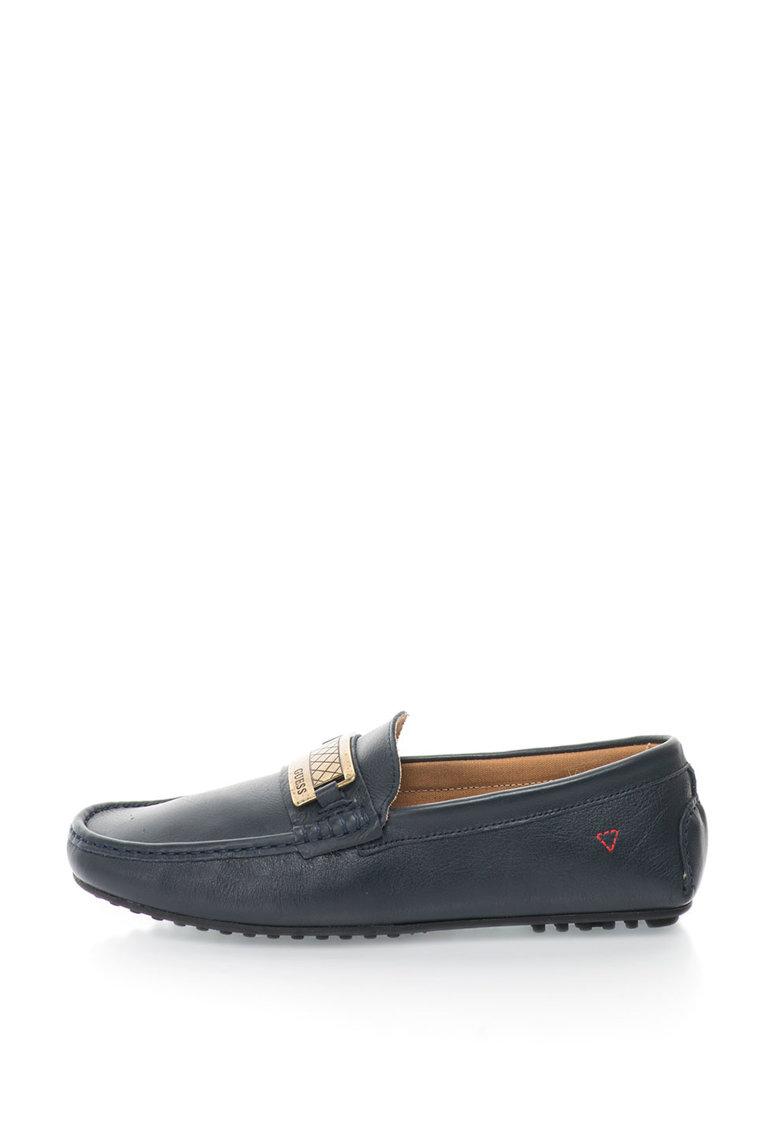 Guess Pantofi loafer de piele