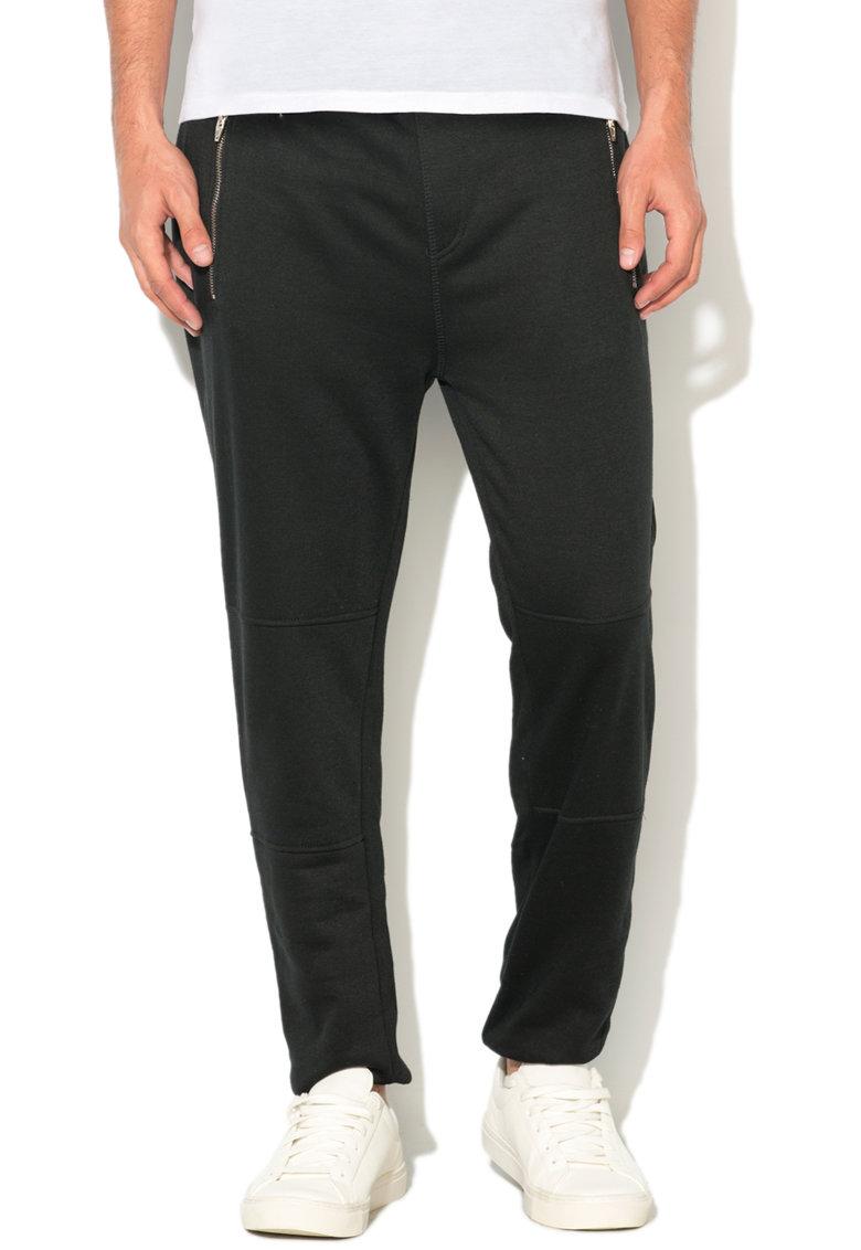 Alcott Pantaloni sport cu buzunare cu fermoar