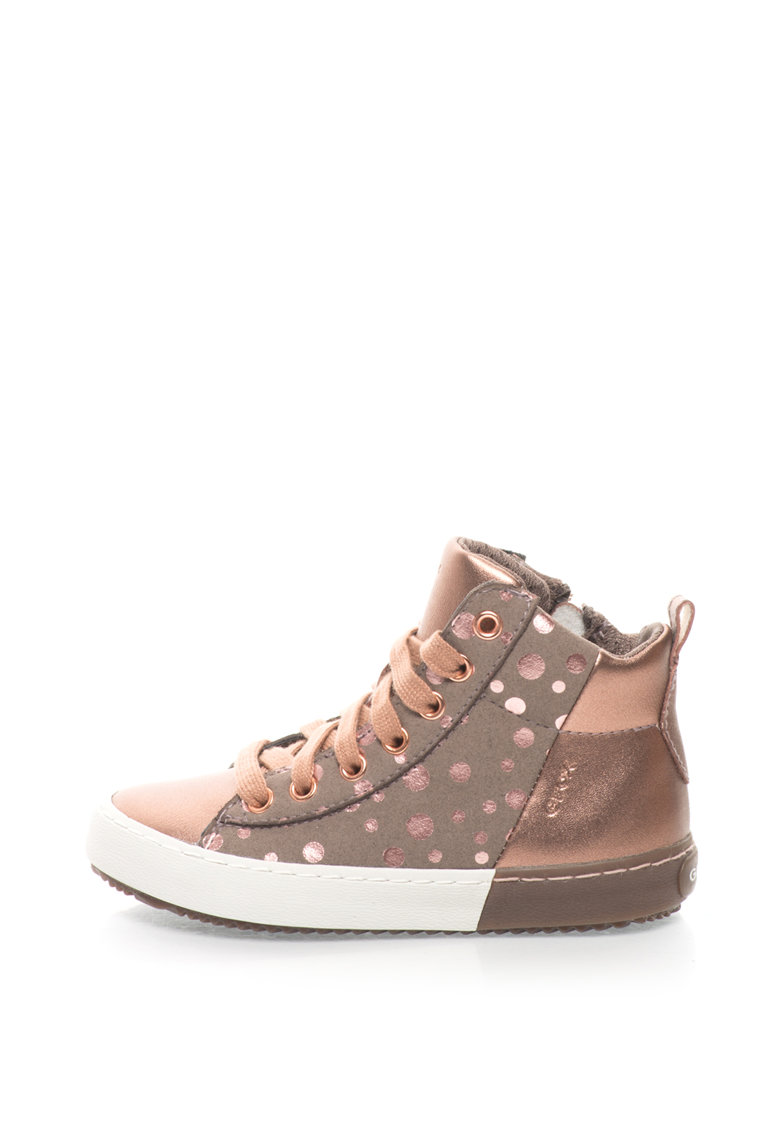 Geox Pantofi sport inalti cu buline Kalipsera