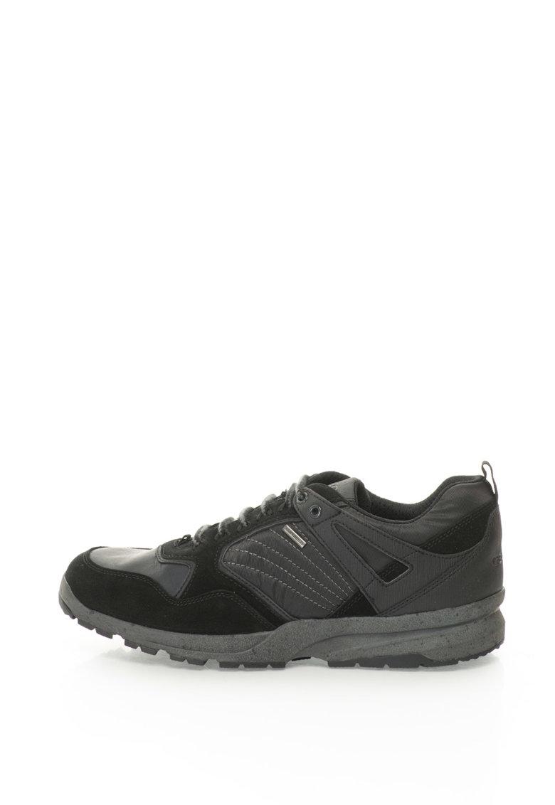 Pantofi sport cu piele intoarsa Ghegy de la Geox