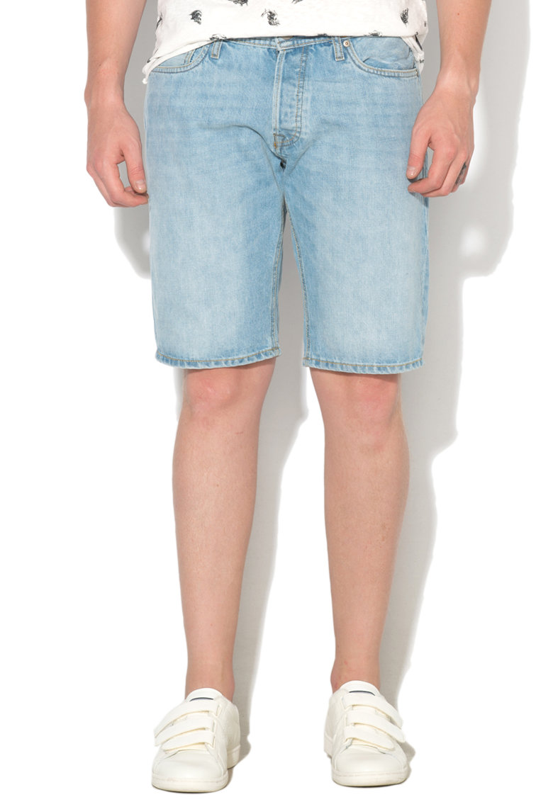 JackJones Bermude din denim regular fit Rick