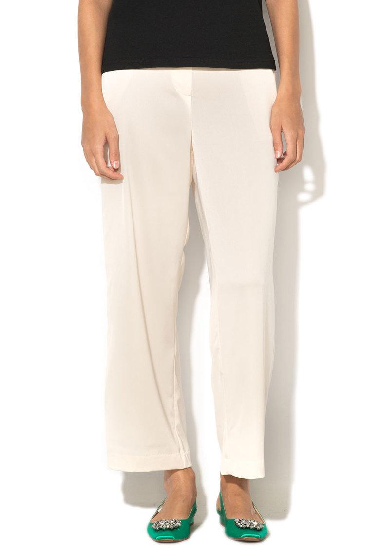 Vero Moda Pantaloni crop lejeri matasosi Ayla