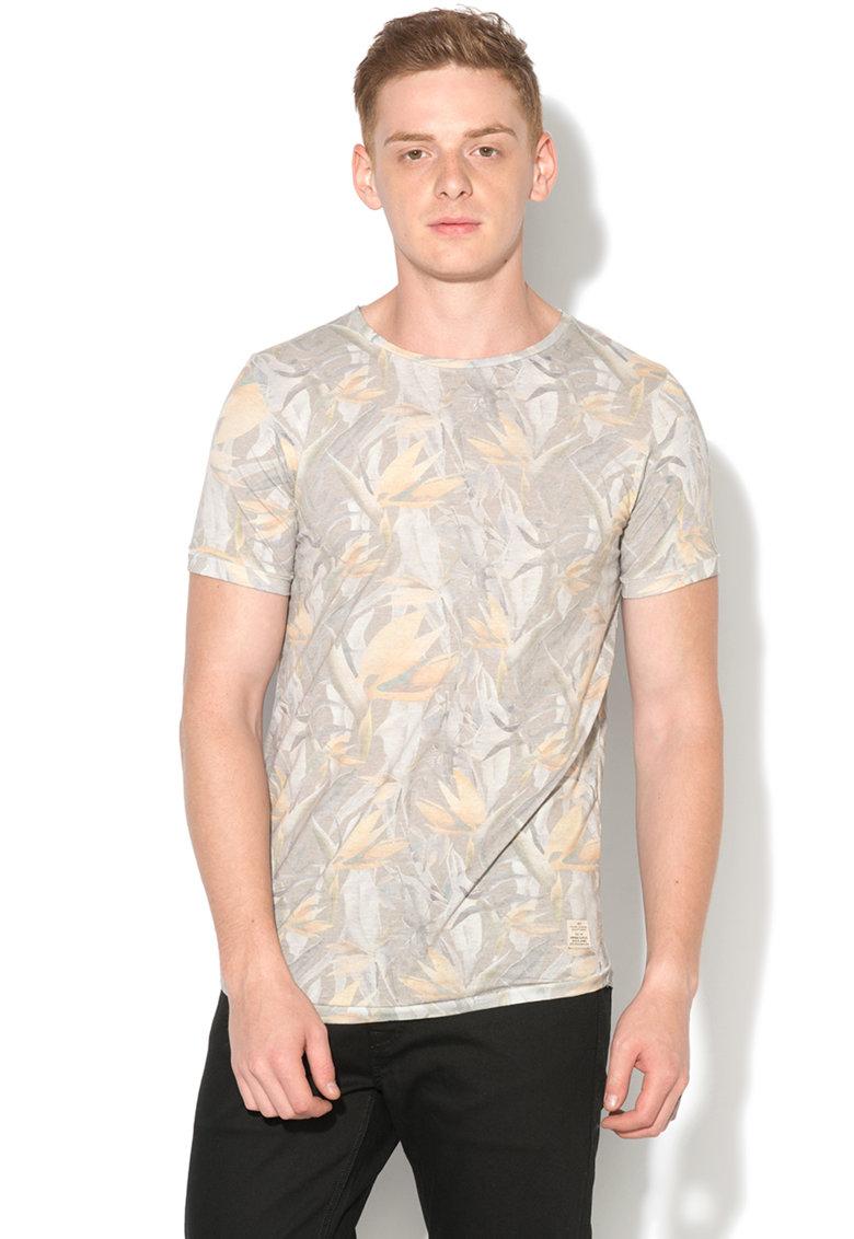 JackJones Tricou slim fit cu imprimeu floral Toby