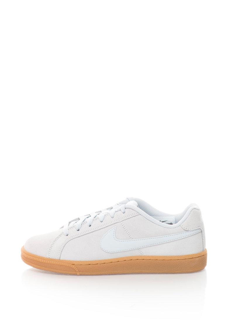 Pantofi sport de piele intoarsa Court Royale de la Nike – 916795-001