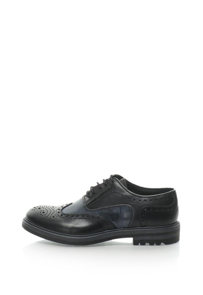 Pantofi brogue de piele de la Zee Lane