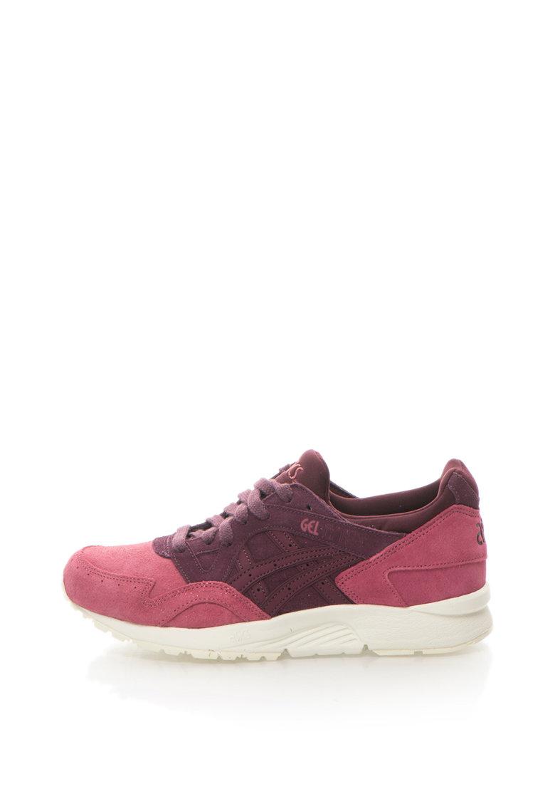 ASICS Tiger Asics – Pantofi sport de piele intoarsa si piele Gel-Lyte V