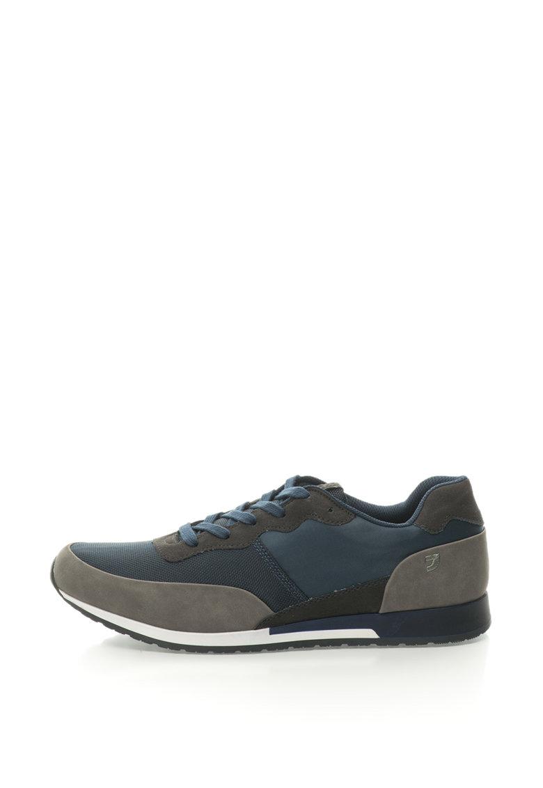 Gioseppo Pantofi sport din material textil si piele sintetica