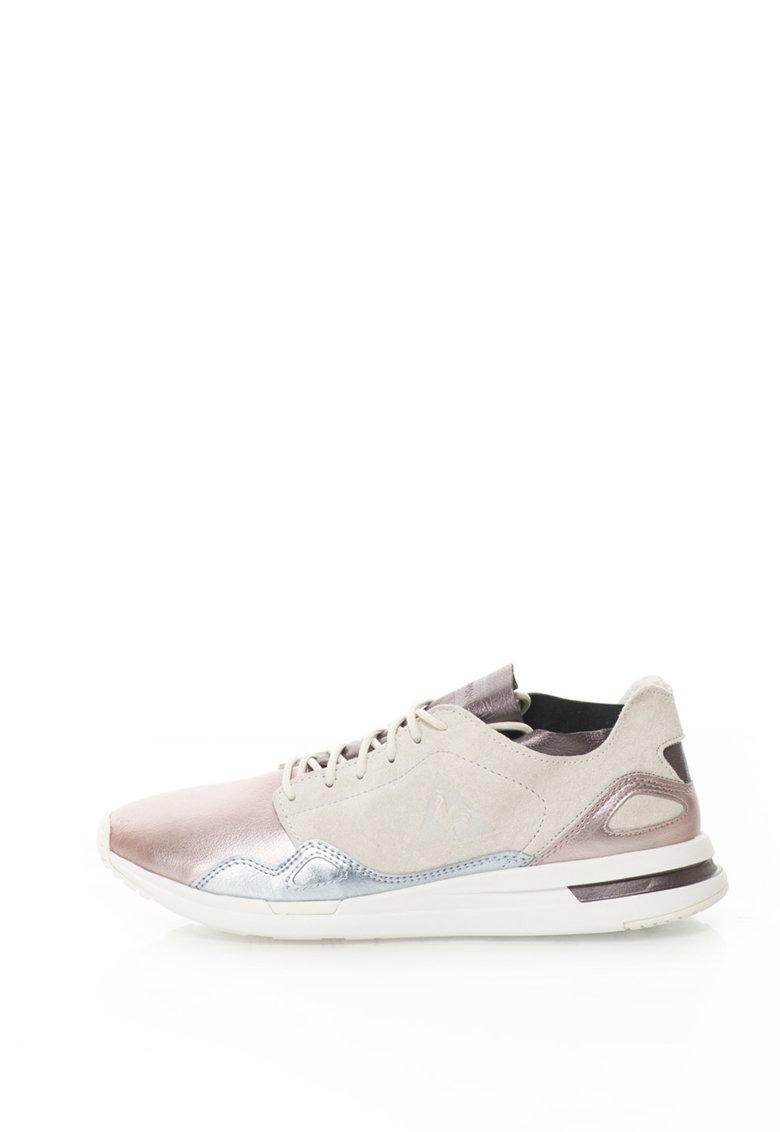 Le Coq Sportif Pantofi sport cu insertii de piele intoarsa R Flow