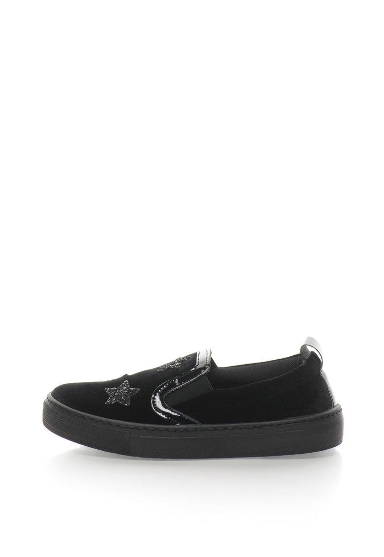 Oakoui Pantofi slip-on catifelati