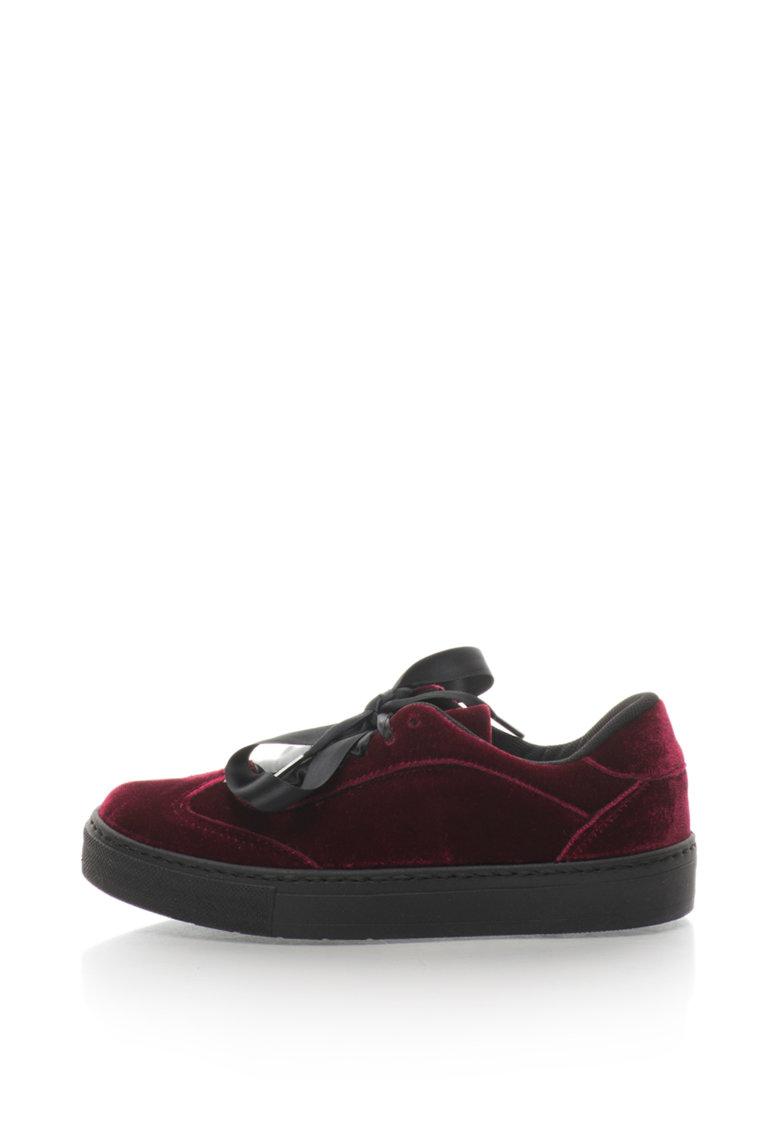 Oakoui Pantofi sport de catifea