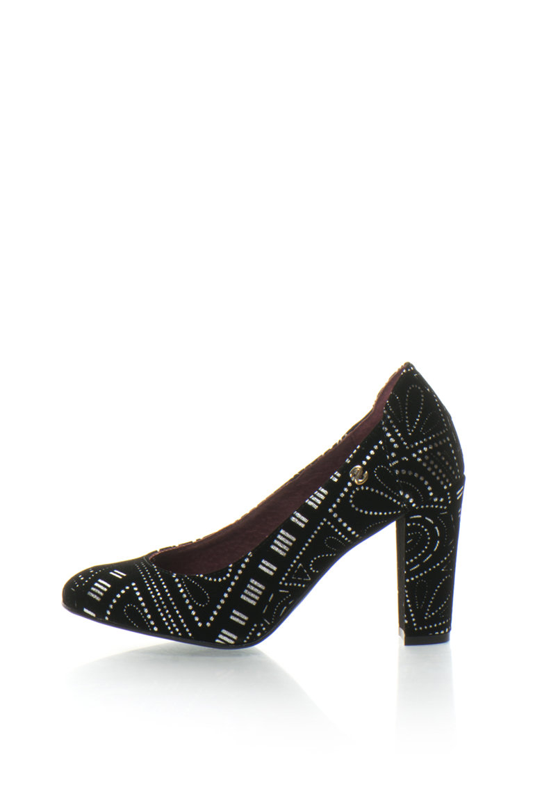 DESIGUAL Pantofi catifelati Altea Bling Bling