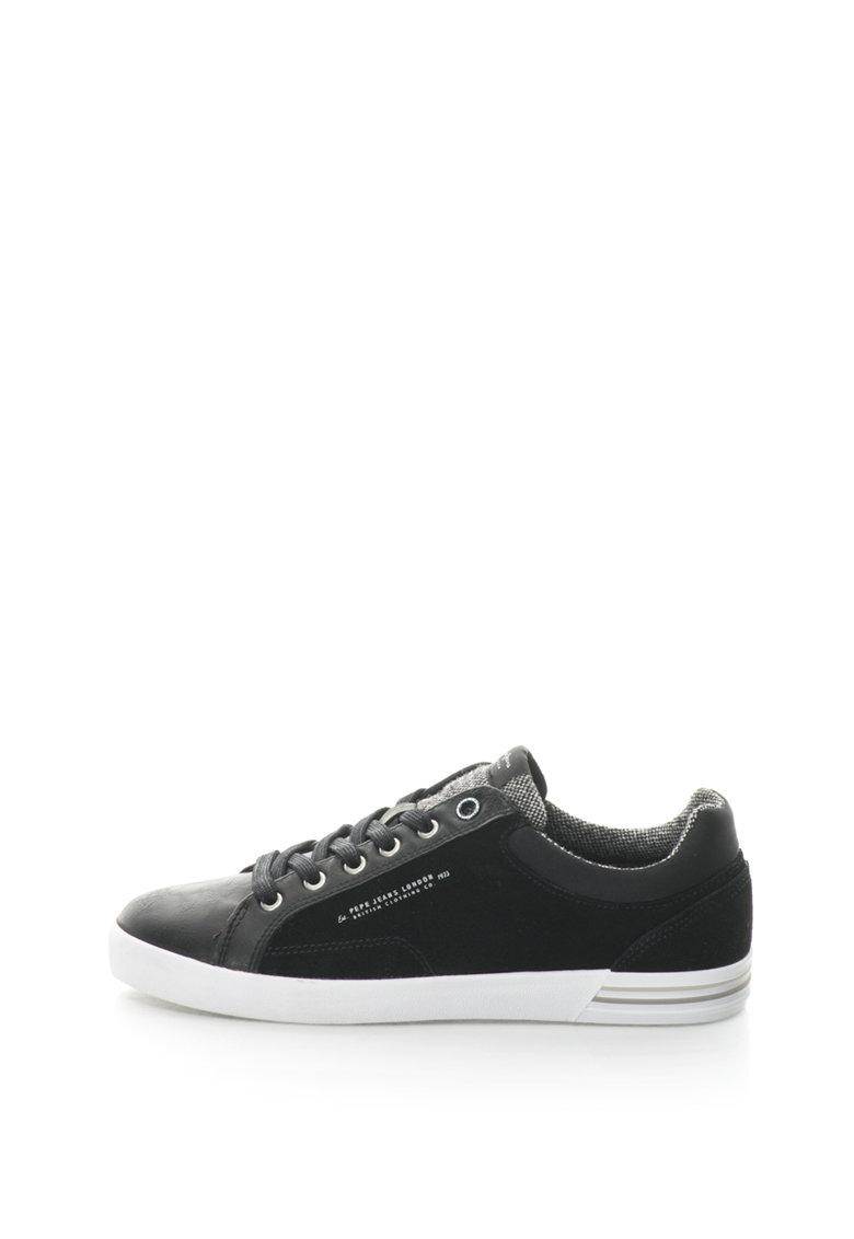 Pepe Jeans Pantofi sport cu segmente de piele intoarsa North Mix