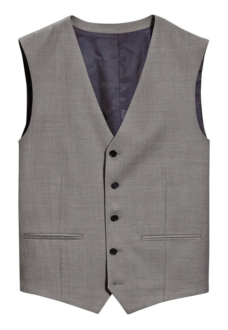 Vesta slim fit eleganta din lana