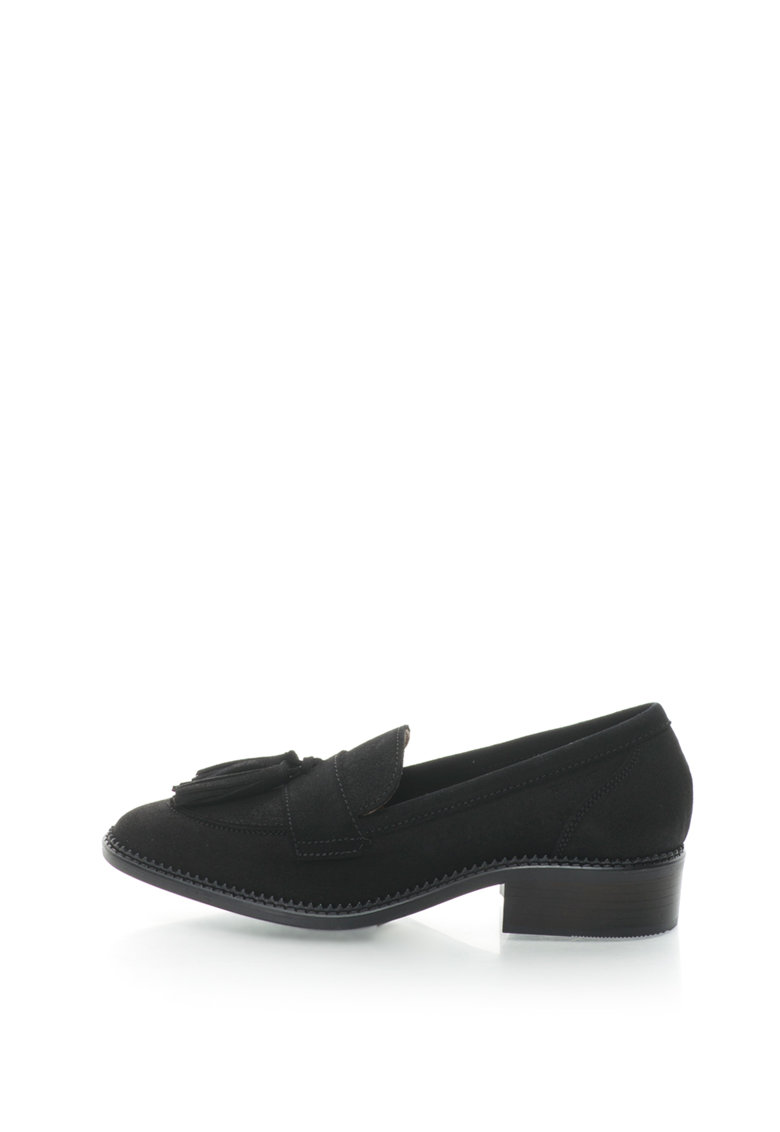 Esprit Pantofi loafer de piele intoarsa cu canafi