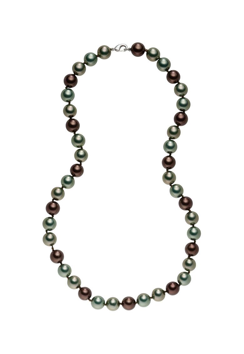 Colier cu perle organice de la Zee Lane