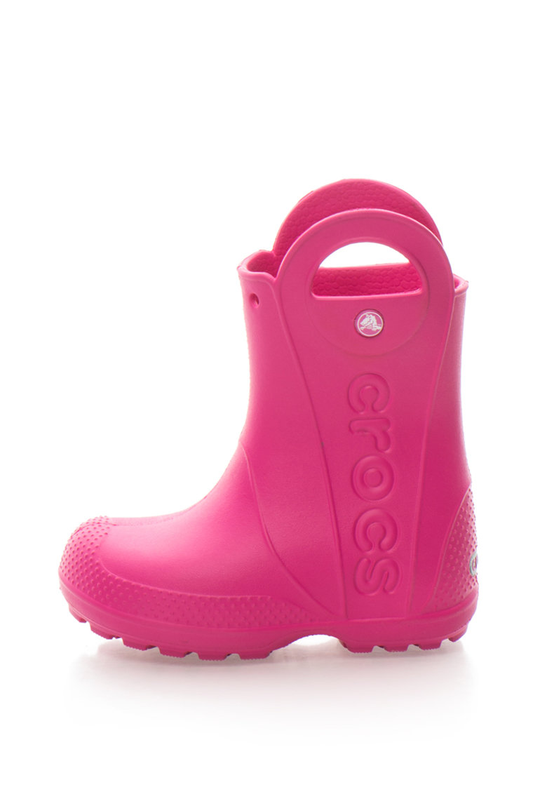 Cizme de ploaie cu logo Crocs