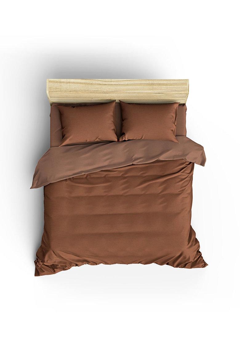 Set de pat din bumbac ranforce Lilyum de la Leunelle