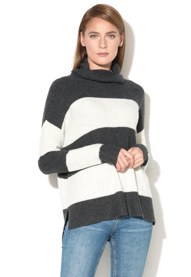 EDC by Esprit Pulover tricotat cu guler inalt