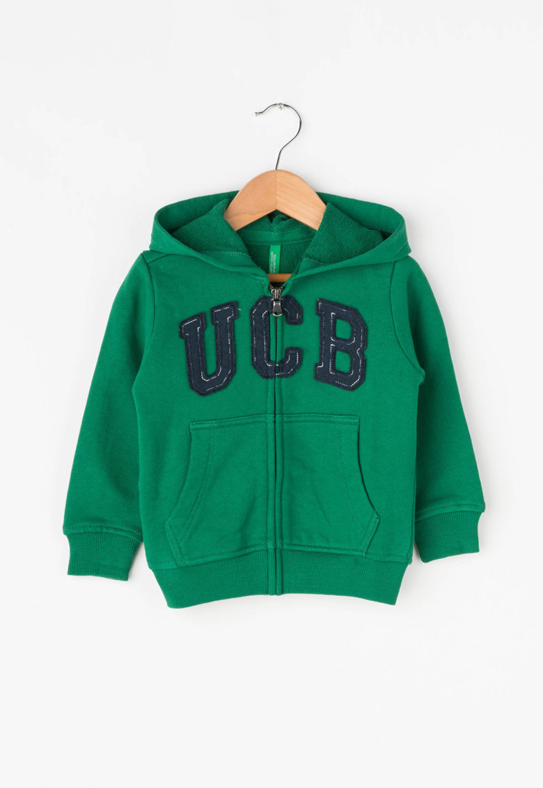 United Colors of Benetton Hanorac cu broderie text