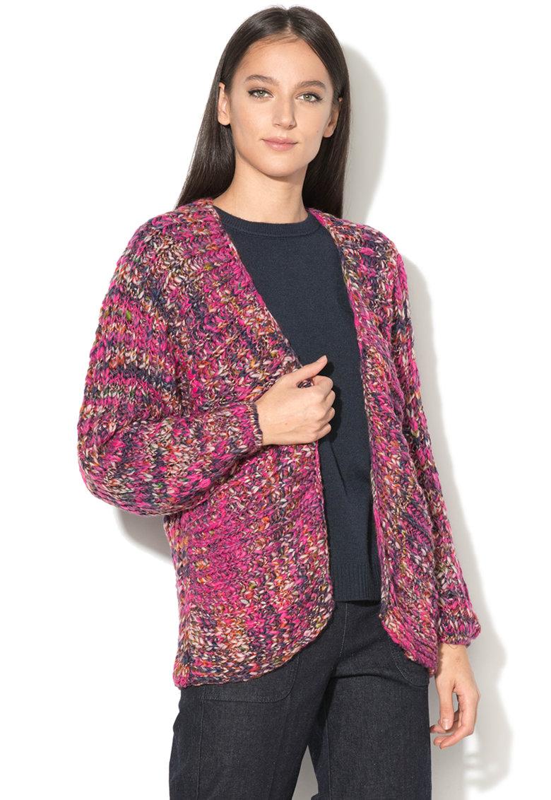 United Colors of Benetton – Cardigan tricotat fara inchidere
