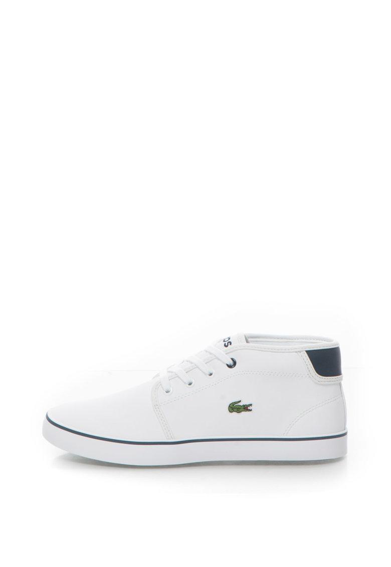 Lacoste Pantofi sport mid-hi de piele sintetica