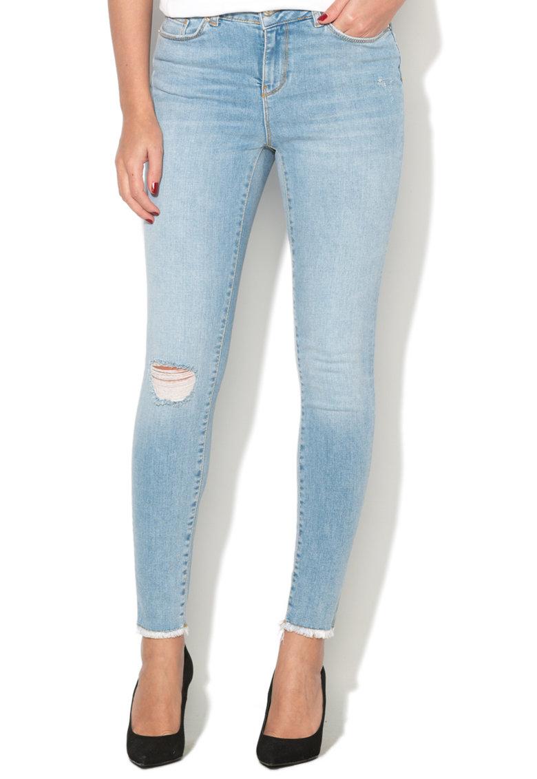 Vero Moda Blugi cu rupturi decorative Seven Jeans