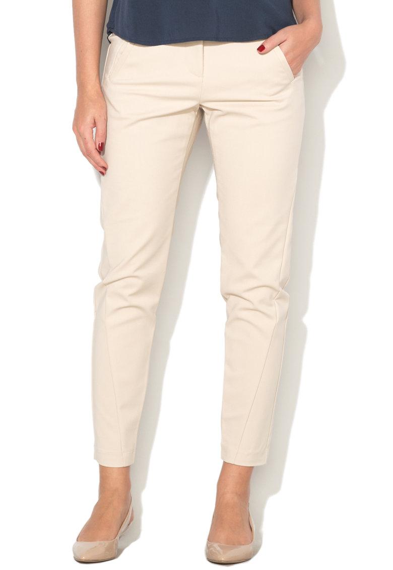 Vero Moda Pantaloni chino crop Victoria
