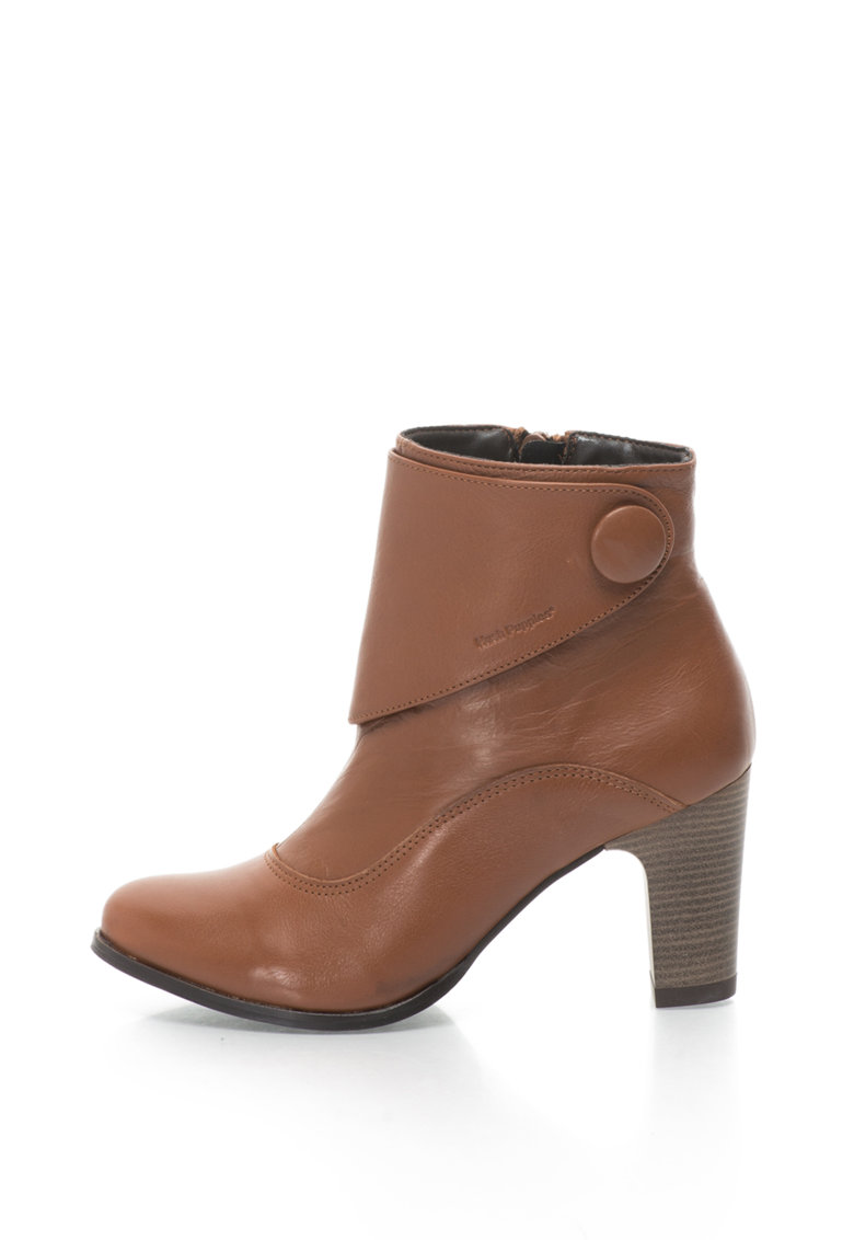Botine de piele cu toc inalt Willow Brook de la Hush Puppies