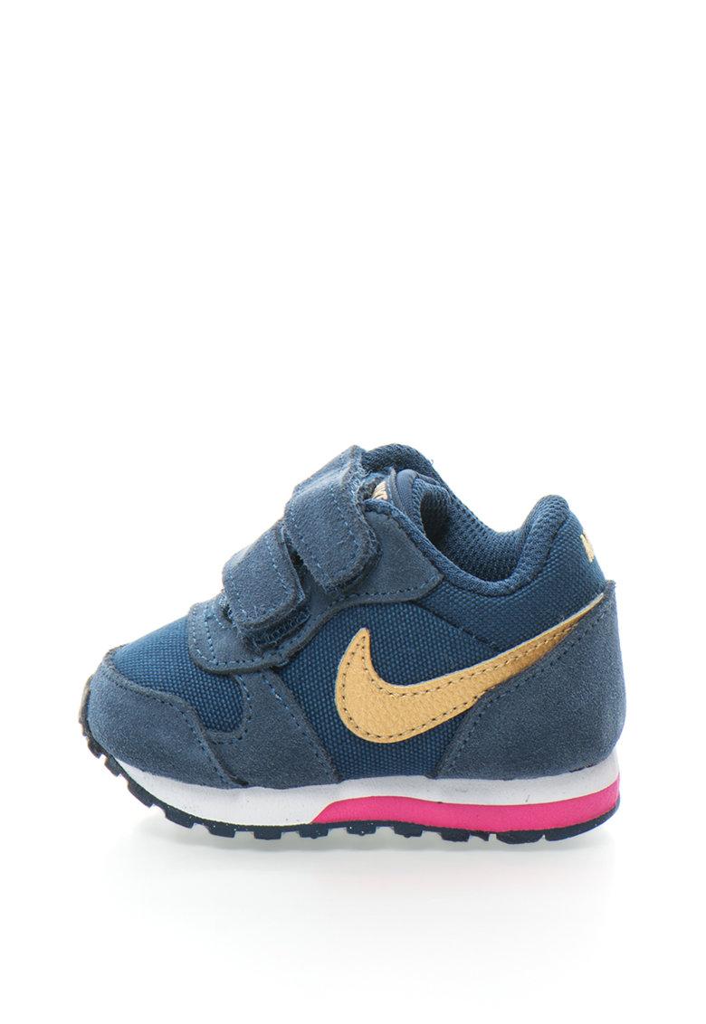 Pantofi sport cu garnituri de piele intoarsa MD Runner 2 Nike
