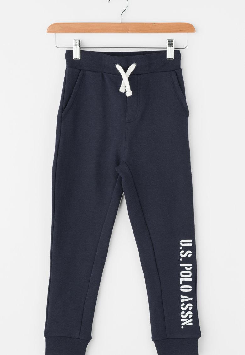 Pantaloni jogger cu banda elastica in talie Taglia de la US Polo Assn