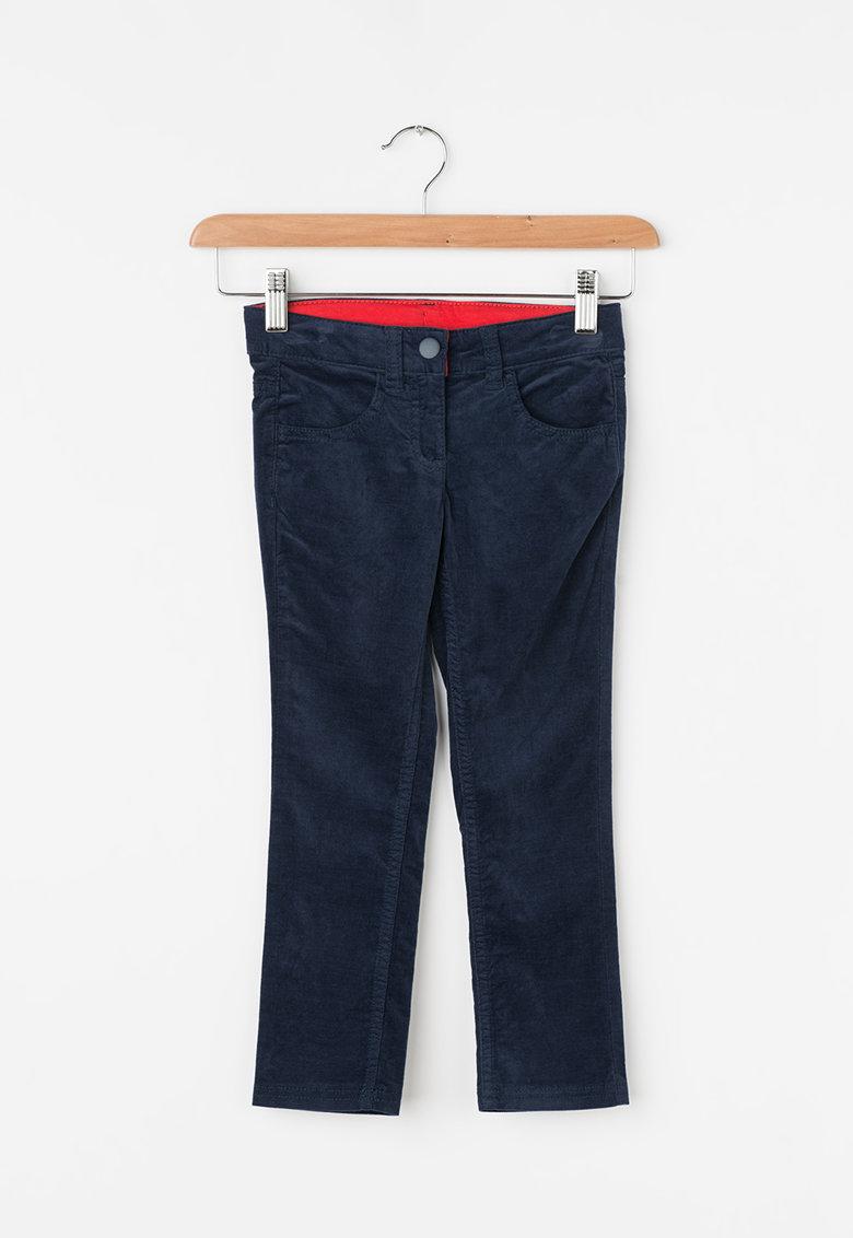 Pantaloni din material reiat