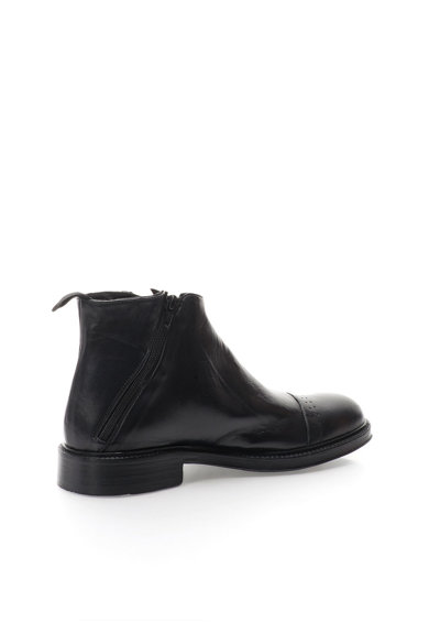 Zee Lane Collection Ghete negre de piele Barbati