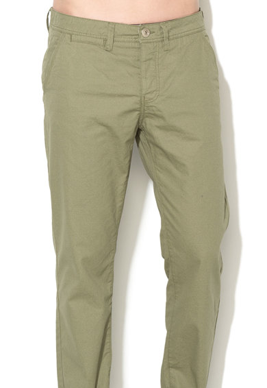 GREYSTONE Pantaloni chino regular fit verde prafuit Chris Barbati