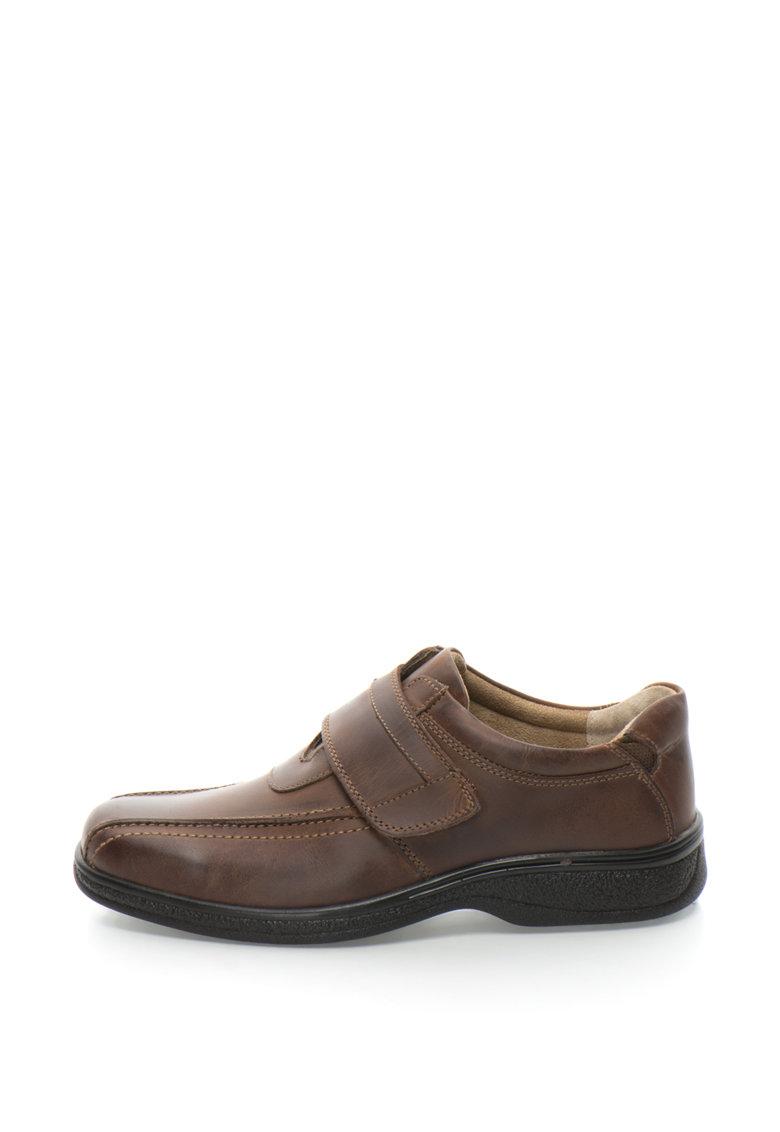 Pantofi din piele cu inchidere cu scai Bourton Idea thumbnail